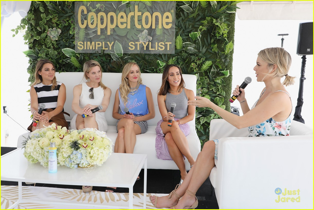 nastia liukin coppertone stylist event 17