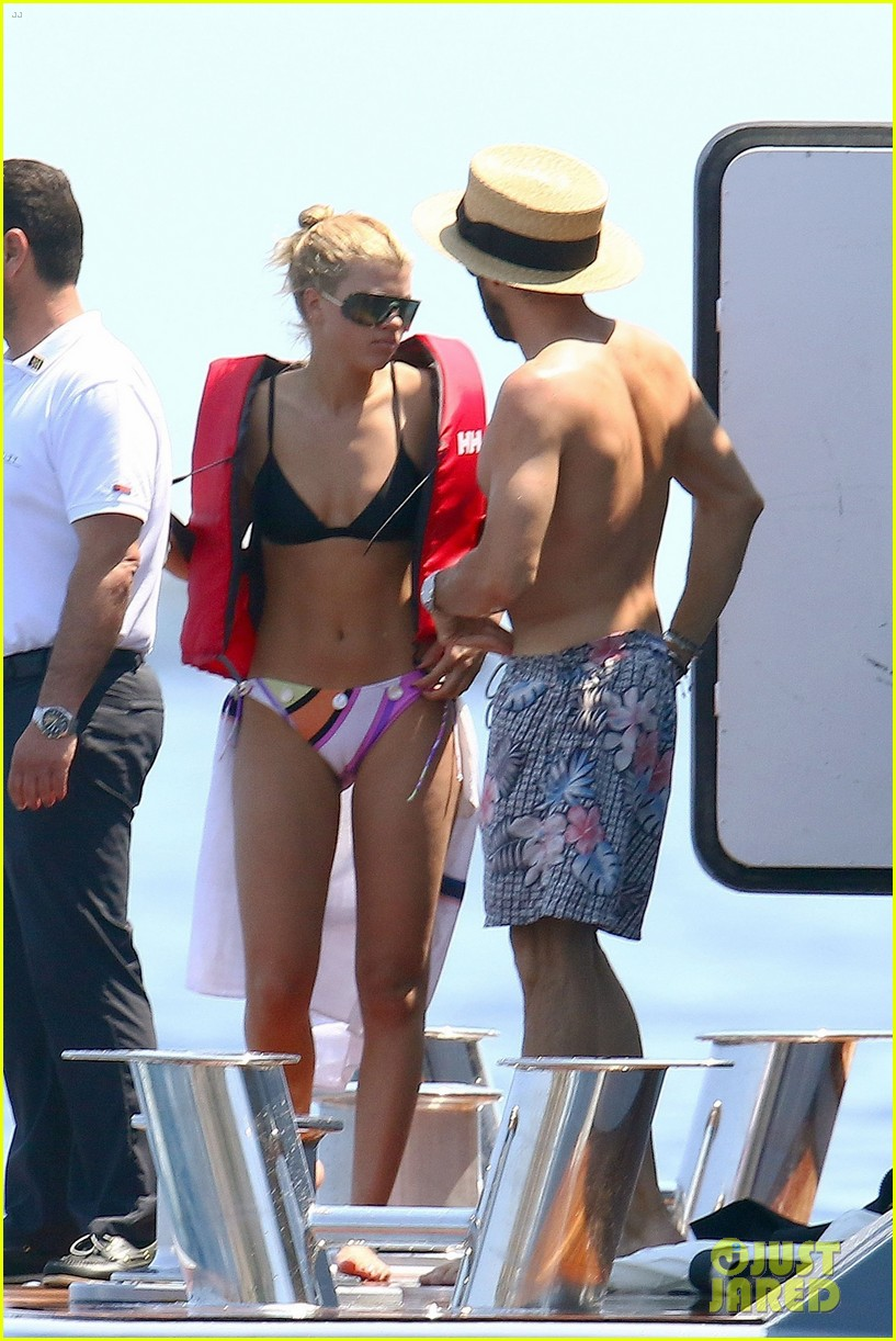 sofia richie rocks two bathing suits on yacht in france 05