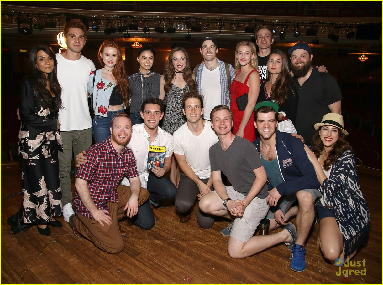 The Riverdale Cast Visited Casey Cotts Brother On Broadway Pics