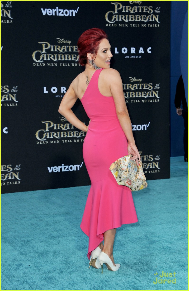 sharna burgess witney carson pirates premiere becky g 33