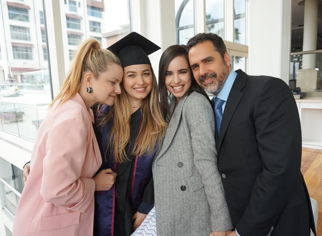 sofia carson paulina char graduation pics 02