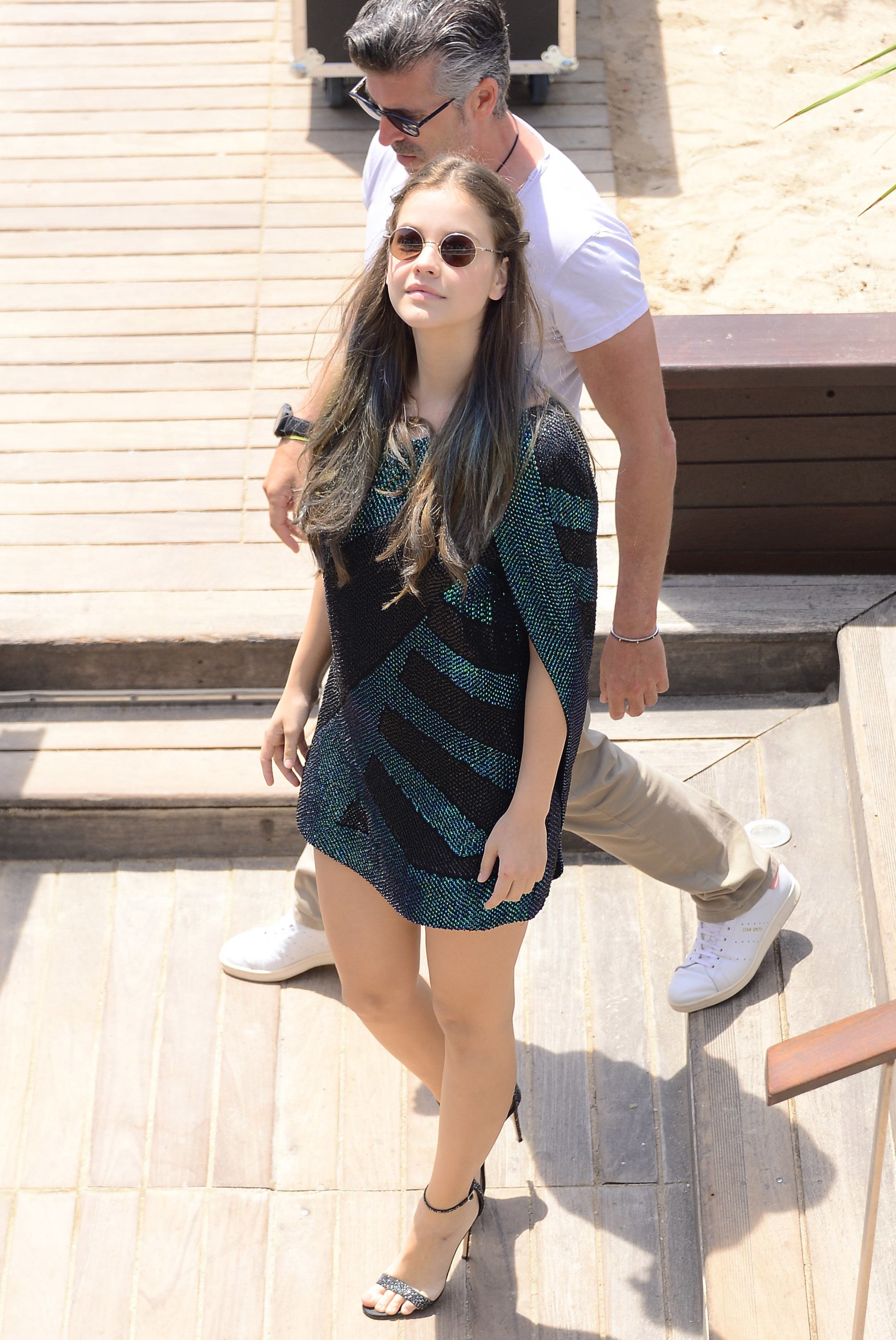 barbara palvin thylane blondeau twin pic cannes 08