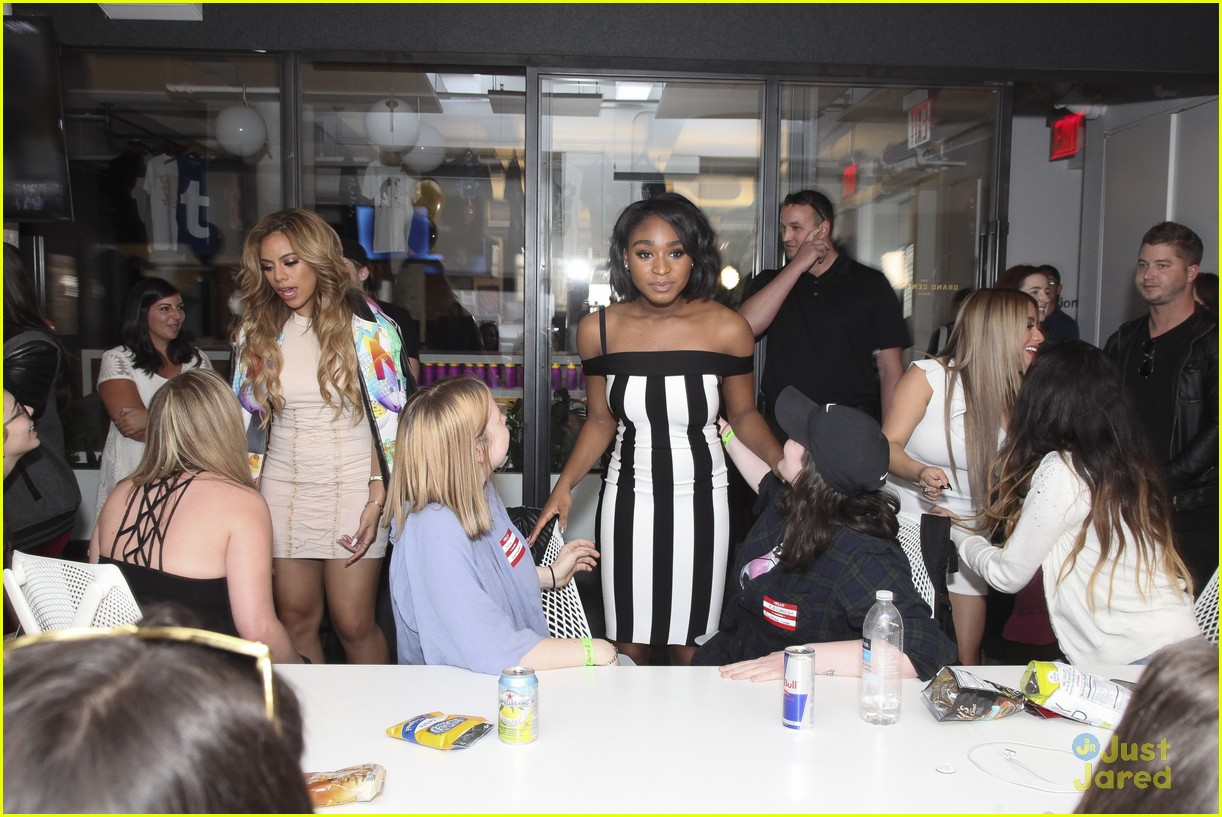 tumblr office. Fifth Harmony Meets Fans Tumblr Office 31 L
