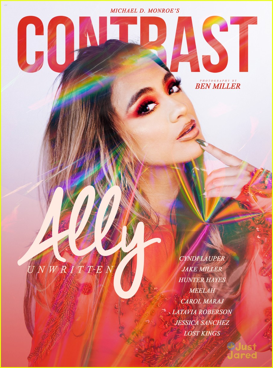 ally brooke constrast mag cover 01
