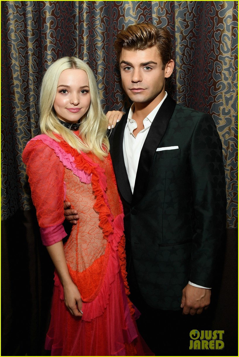 dove cameron garrett clayton reunite at gracie awards 02