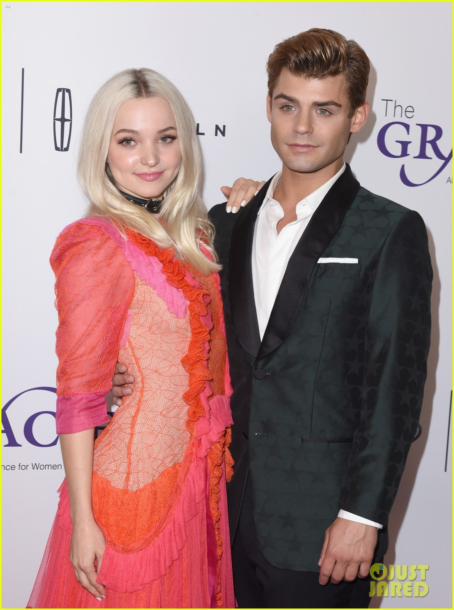 dove cameron garrett clayton reunite at gracie awards 13