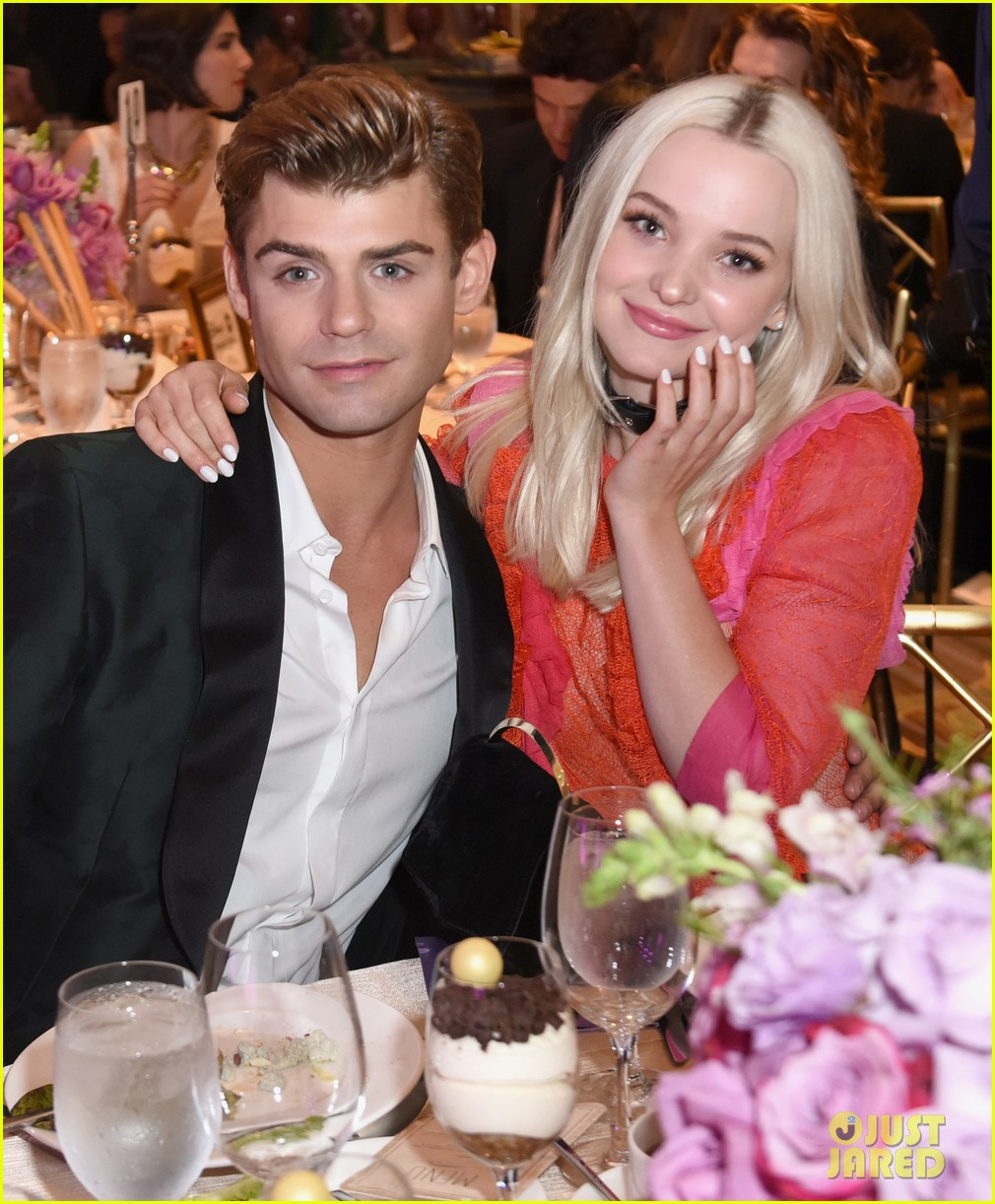 dove cameron garrett clayton reunite at gracie awards 15