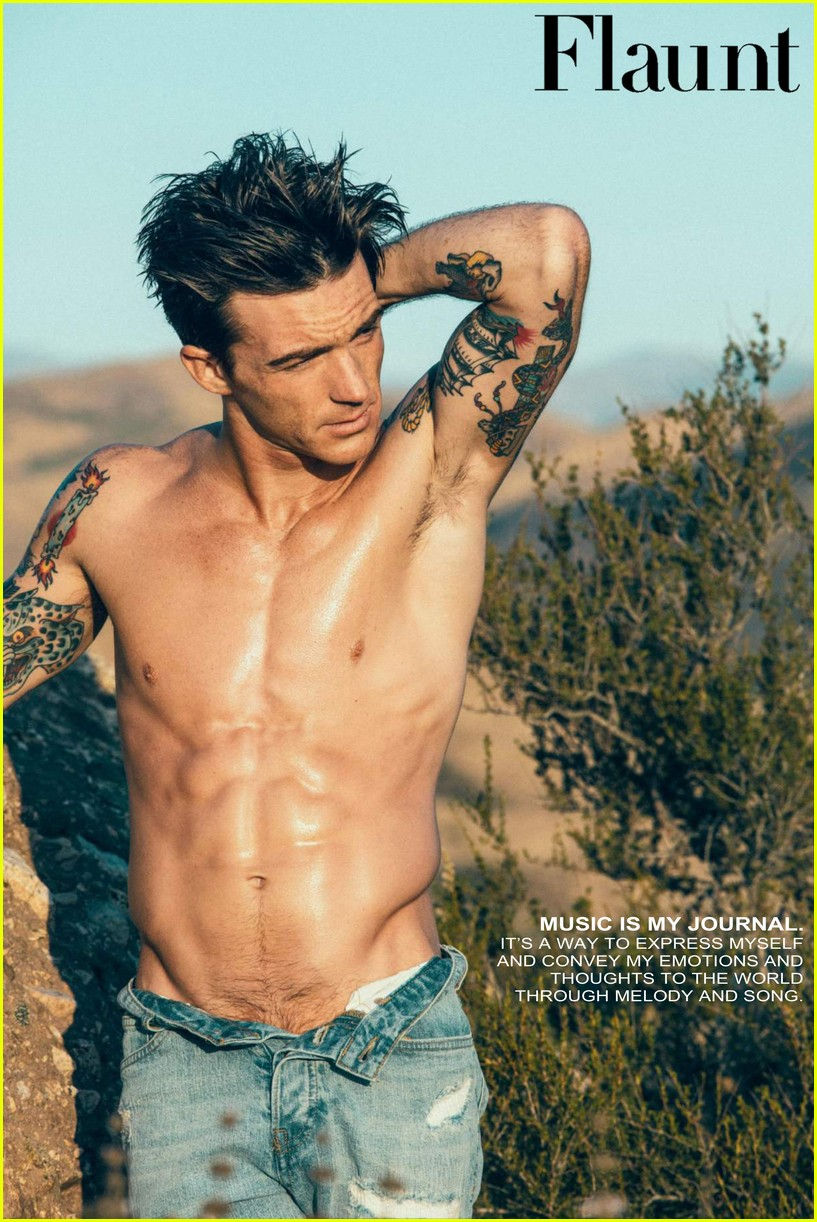 Drake Bell Looks So Hot For Shirtless Flaunt Shoot Photo