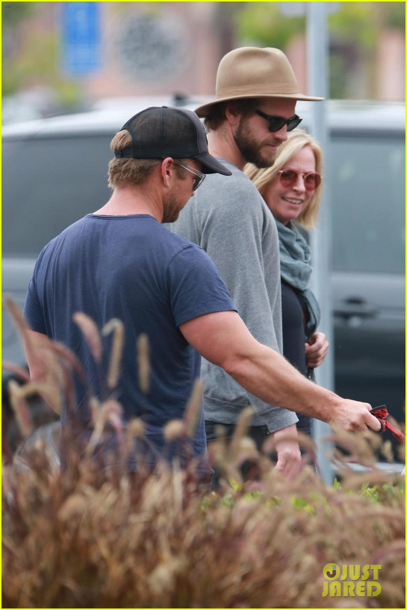 liam hemsworth grabs lunch with luke and parents in malibu 02