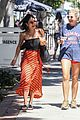 vanessa hudgens cant stop laughing while shopping with friends 06