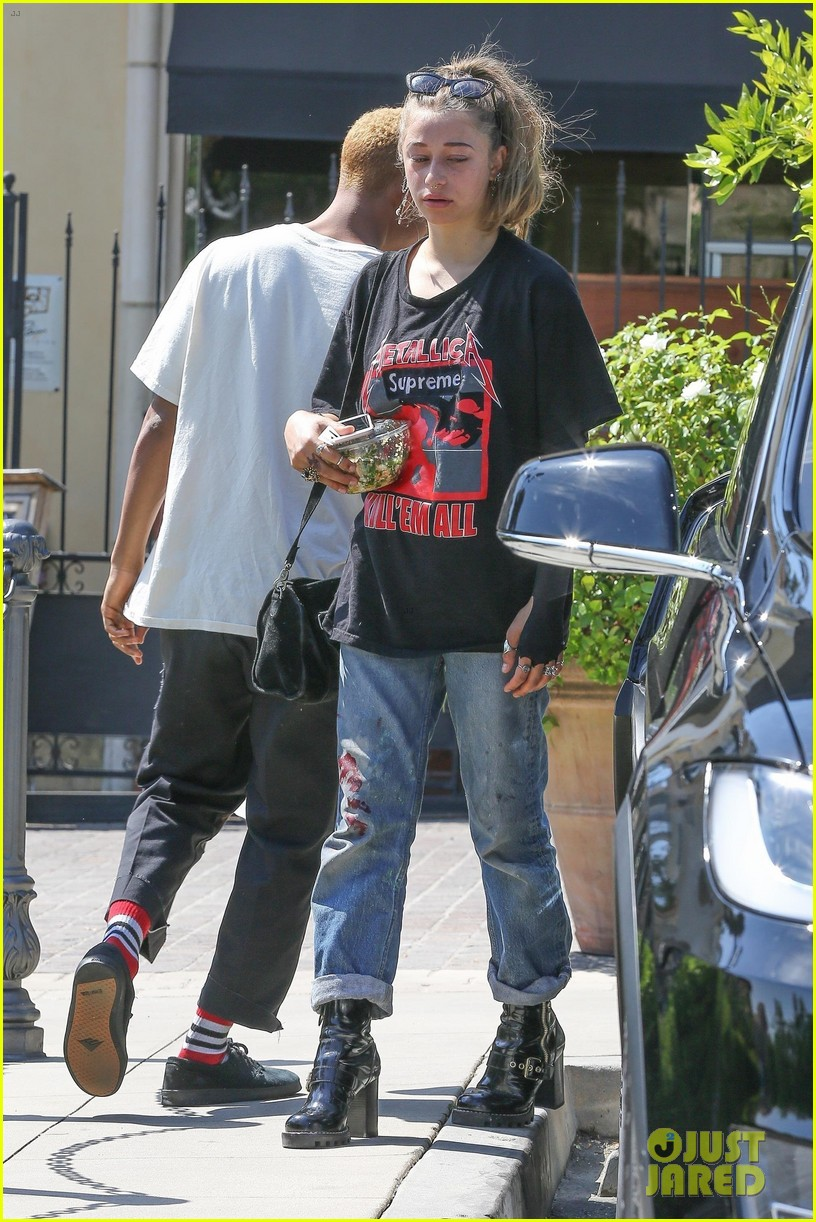 jaden smith goes casual for lunch with girlfriend odessa adlon