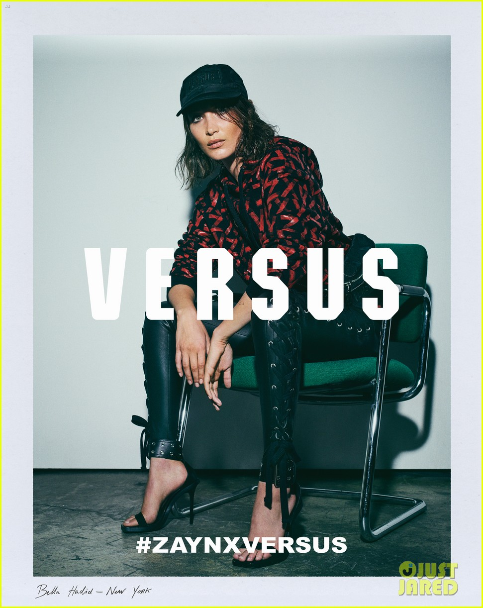 zayn malik officially launches versus versace collection with bella hadid 02
