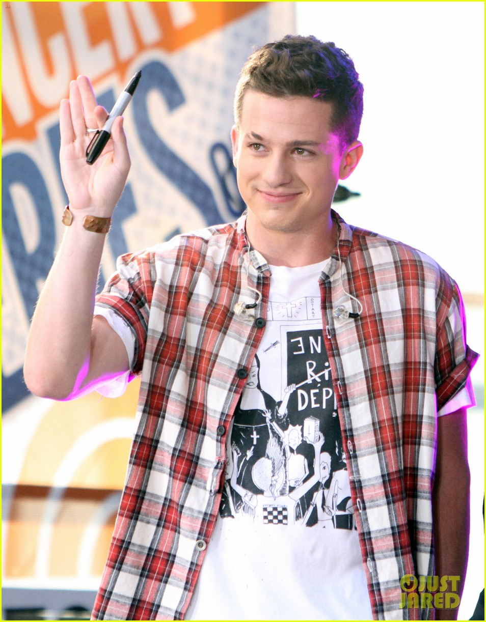 watch charlie puth perform attention on today show summer concert series 01