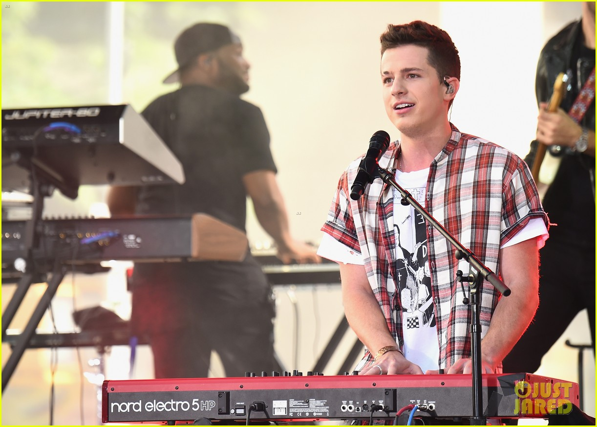 watch charlie puth perform attention on today show summer concert series 03