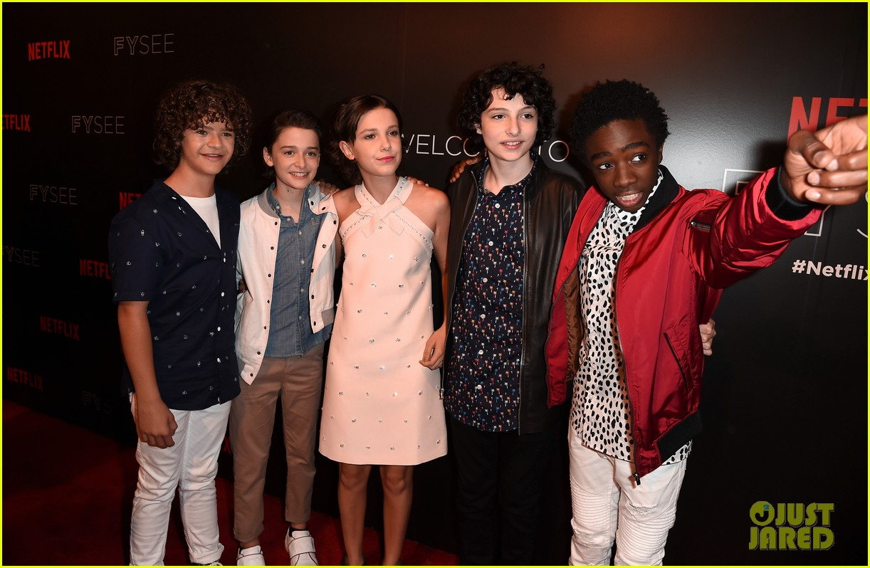Millie Bobby Brown Joins Her 'Stranger Things' Co-stars at a