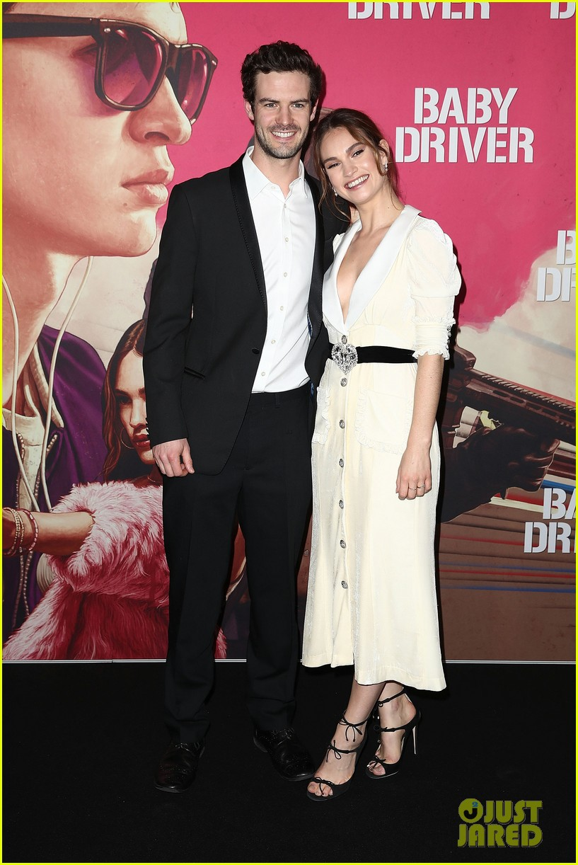 Lily james baby driver australian premiere in sydney naked (73 pictures)