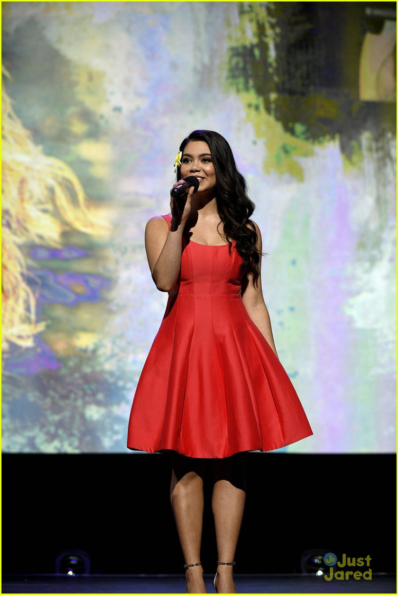 aulii cravalho disney princess wreck it ralph d23 expo 05