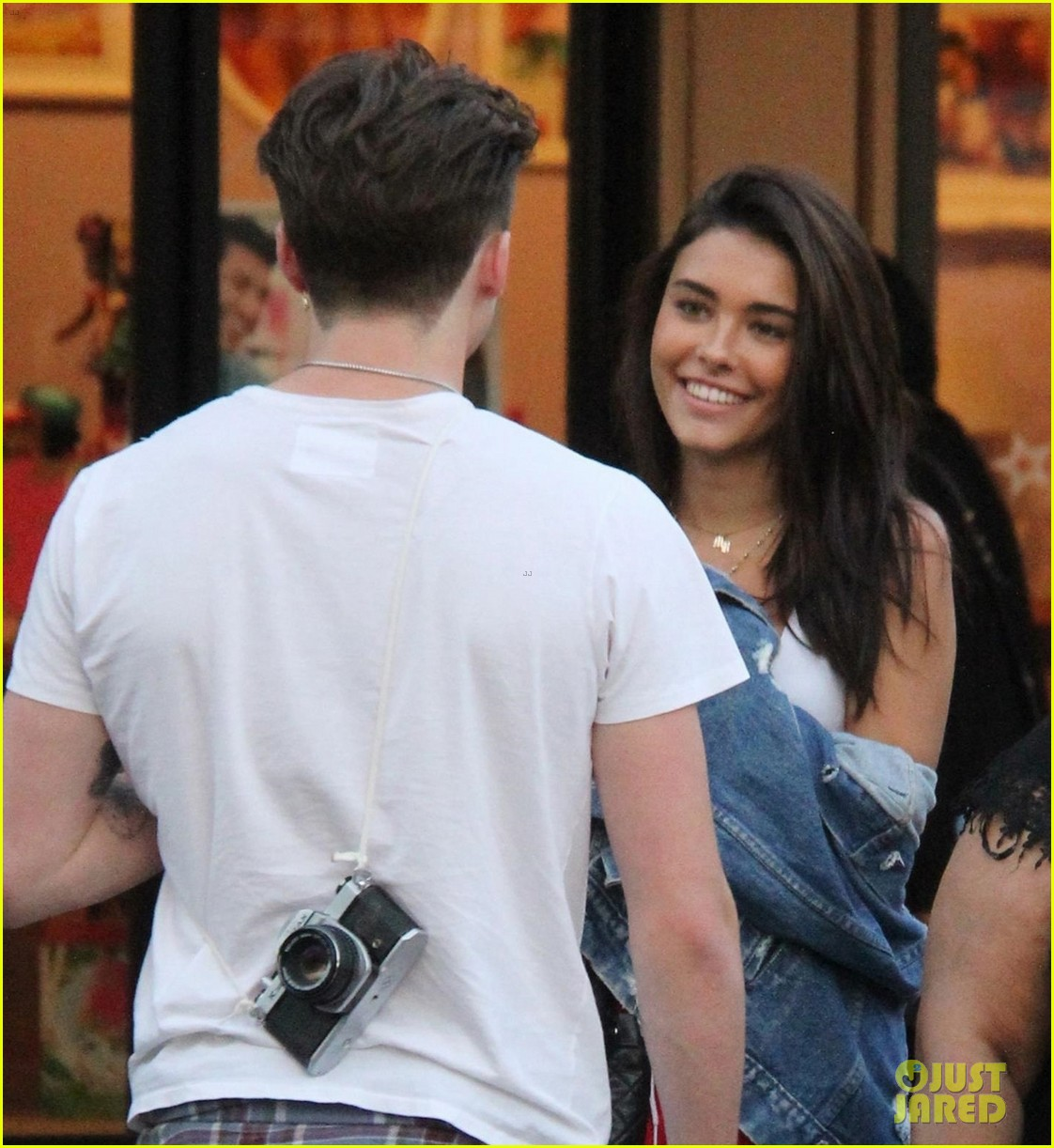 e7c5efbfa3 Madison Beer Looks at Brooklyn Beckham With So Much Joy!