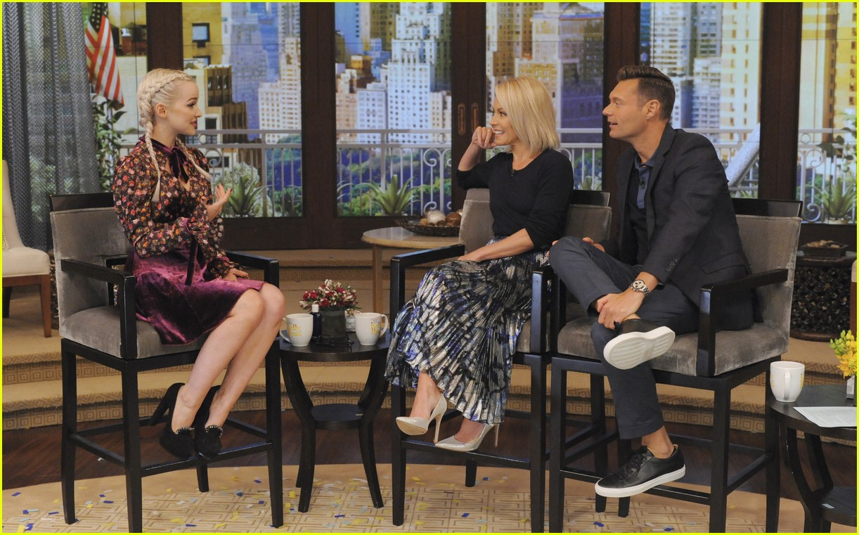 dove cameron live kelly ryan interview 01