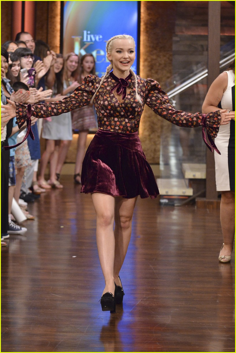 dove cameron live kelly ryan interview 02