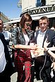 bella hadid is pretty in plaid while out in paris 03