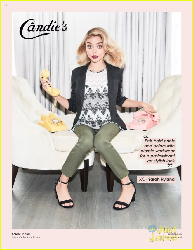sarah hyland mermaid jean candies new campaign pics 09