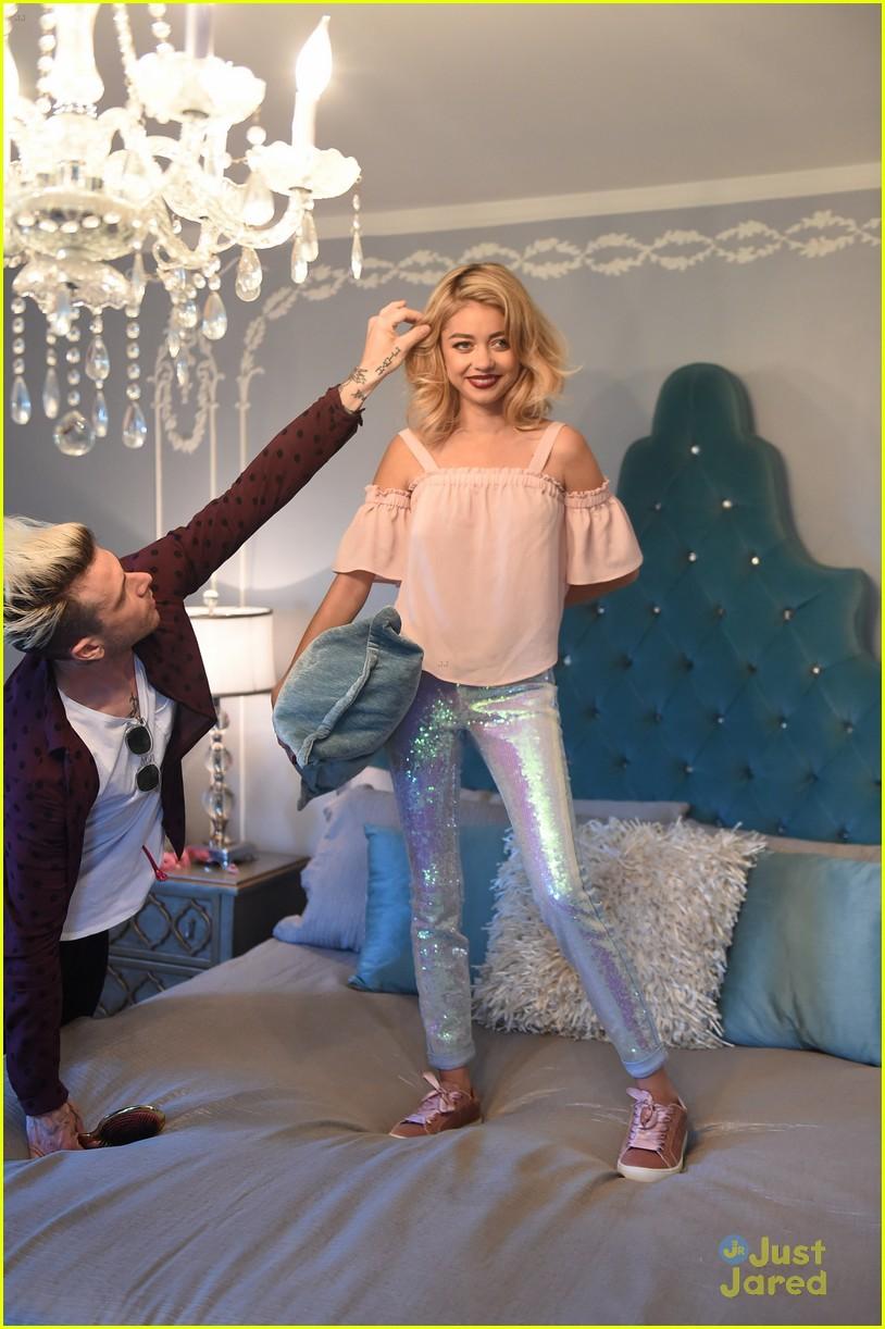 sarah hyland mermaid jean candies new campaign pics 20