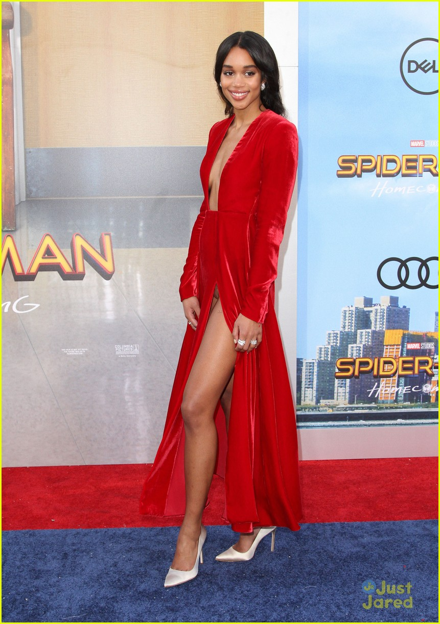 laura harrier isnt zendaya spiderman profile 09