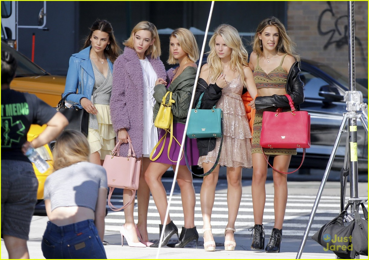 lottie moss sofia richie sistine sarah fashion campaign nyc 03