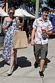 nolan gould hannah glasby hold hands famers market 05