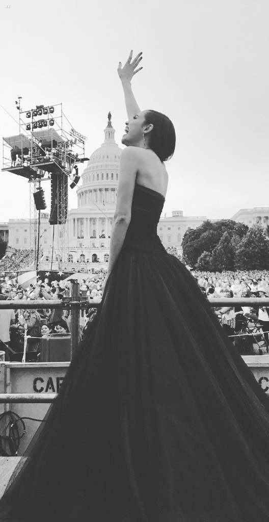 a2727c4a410 Sofia Carson Performs National Anthem at Capitol Fourth Concert ...