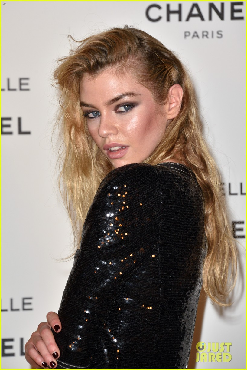 kristen stewart stella maxwell coordinate at chanels gabrielle perfume launch 14