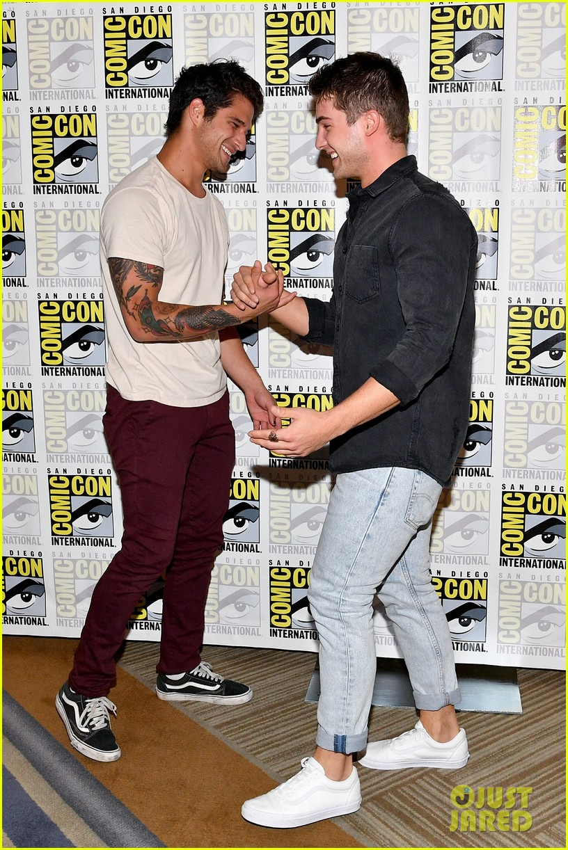 teen wolf comic con photo call 19