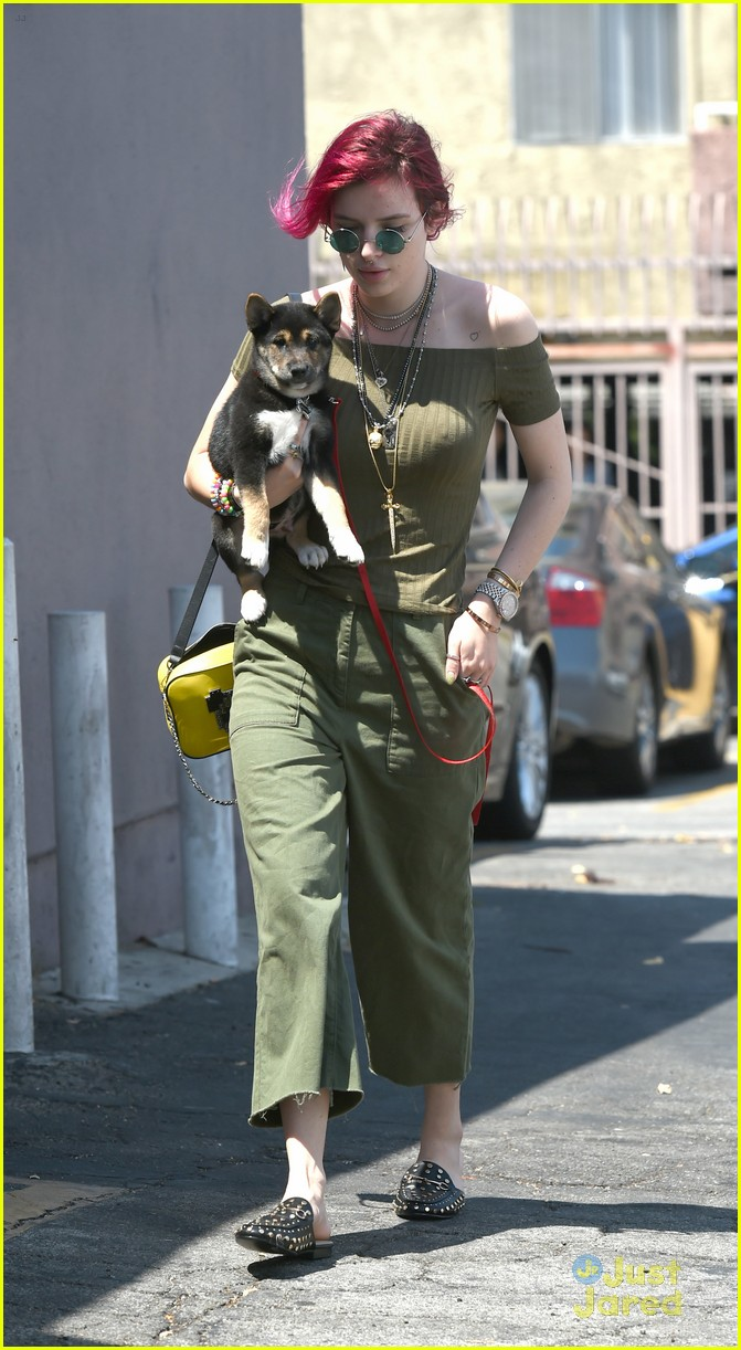 bella thorne new dog out lunch sunday 03
