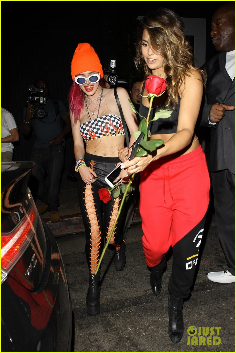bella thorne shows off toned abs at after party 04