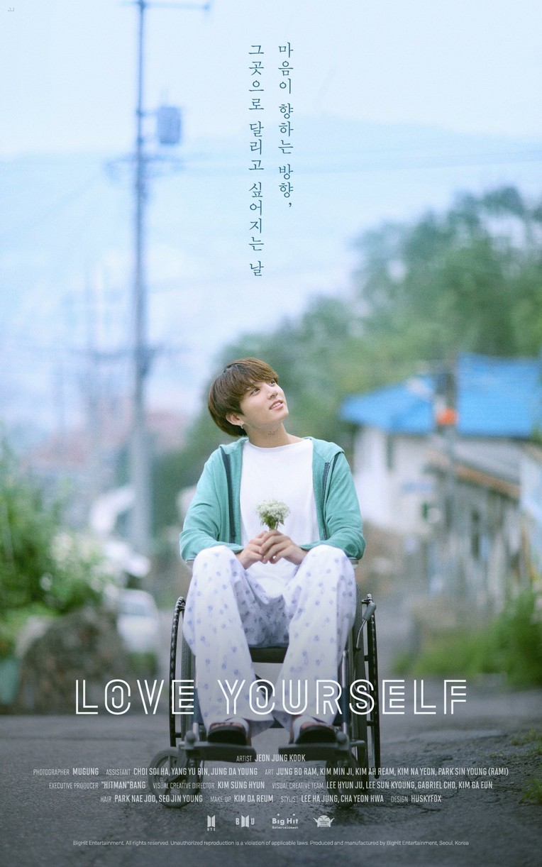 bts love yourself posters new music september 01