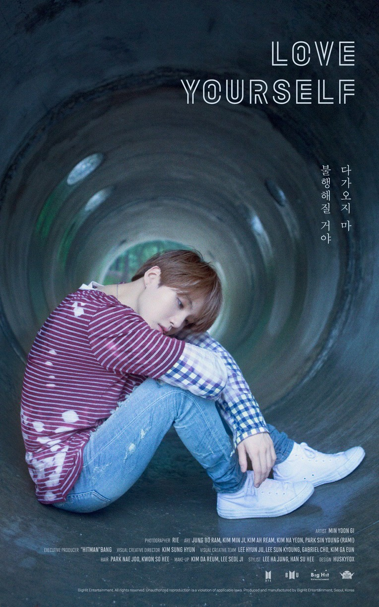 bts love yourself posters new music september 02