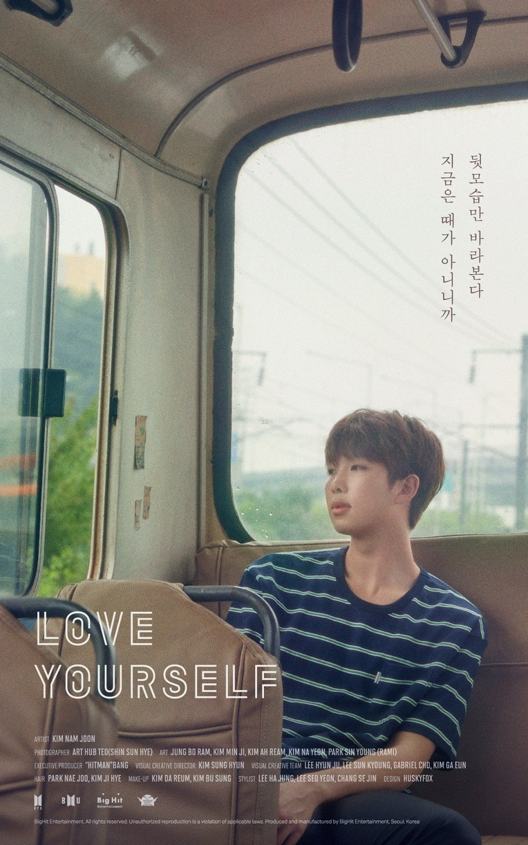 bts love yourself posters new music september 04