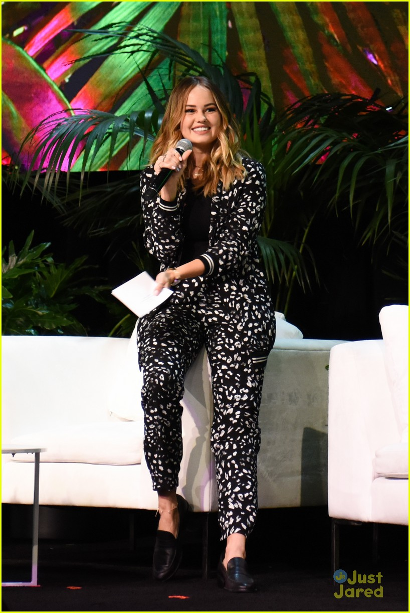debby ryan nia sioux beautycon panel twan ingrid more 19
