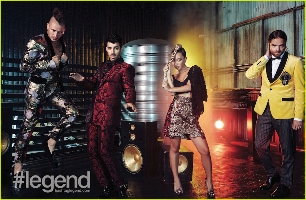dnce covers legend magazine september issue 02