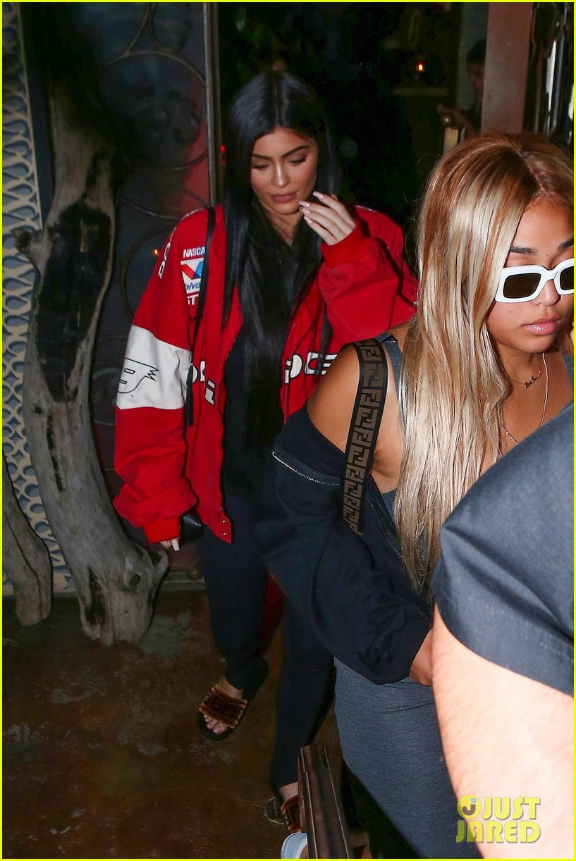 kendall and kylie jenner step out for dinner in la 04