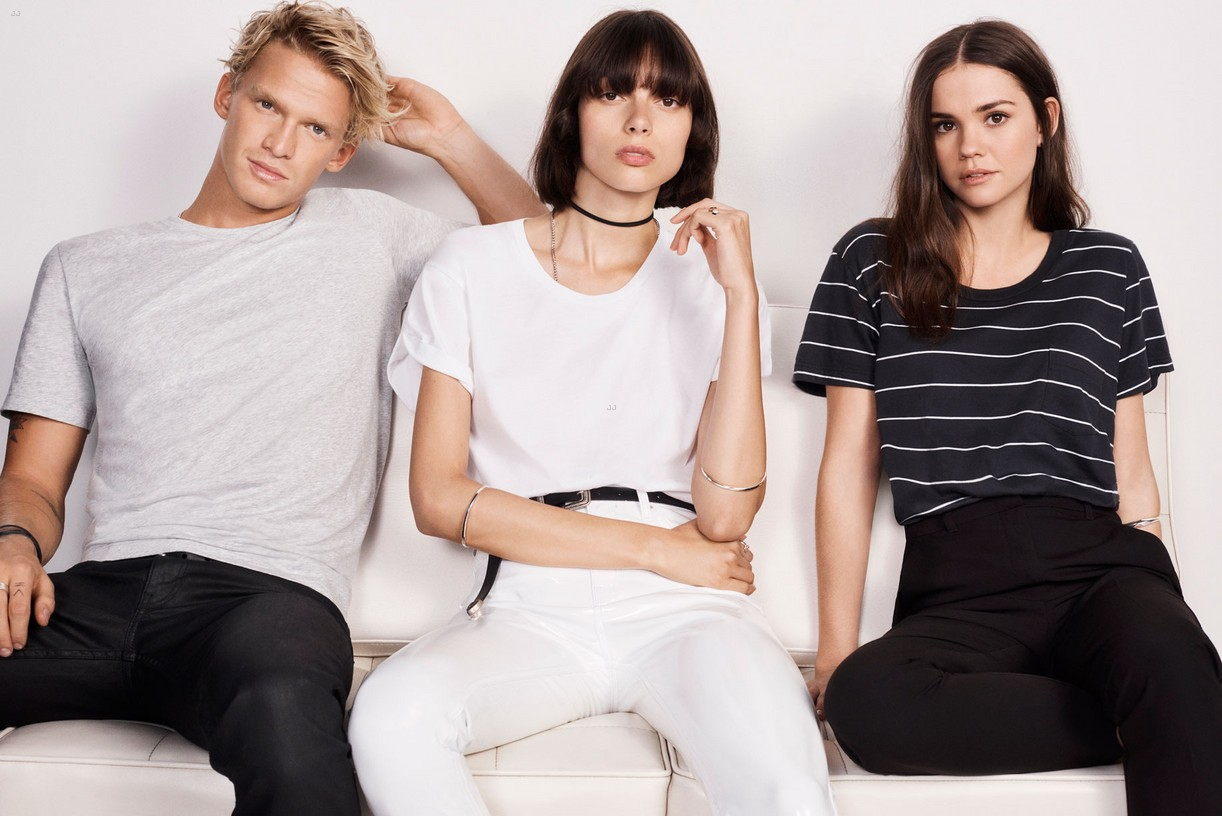 maia mitchell cody simpson bond tees campaign 05