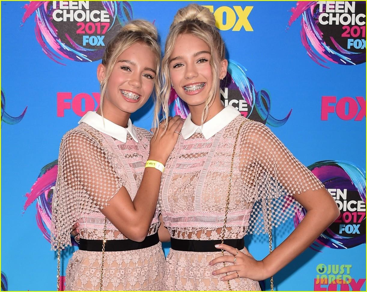 merrell twins eva gutowski olivia jade lisa lena teen choice awards 04
