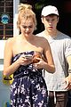 nolan gould spends sunday with girlfriend hannah glasby 04