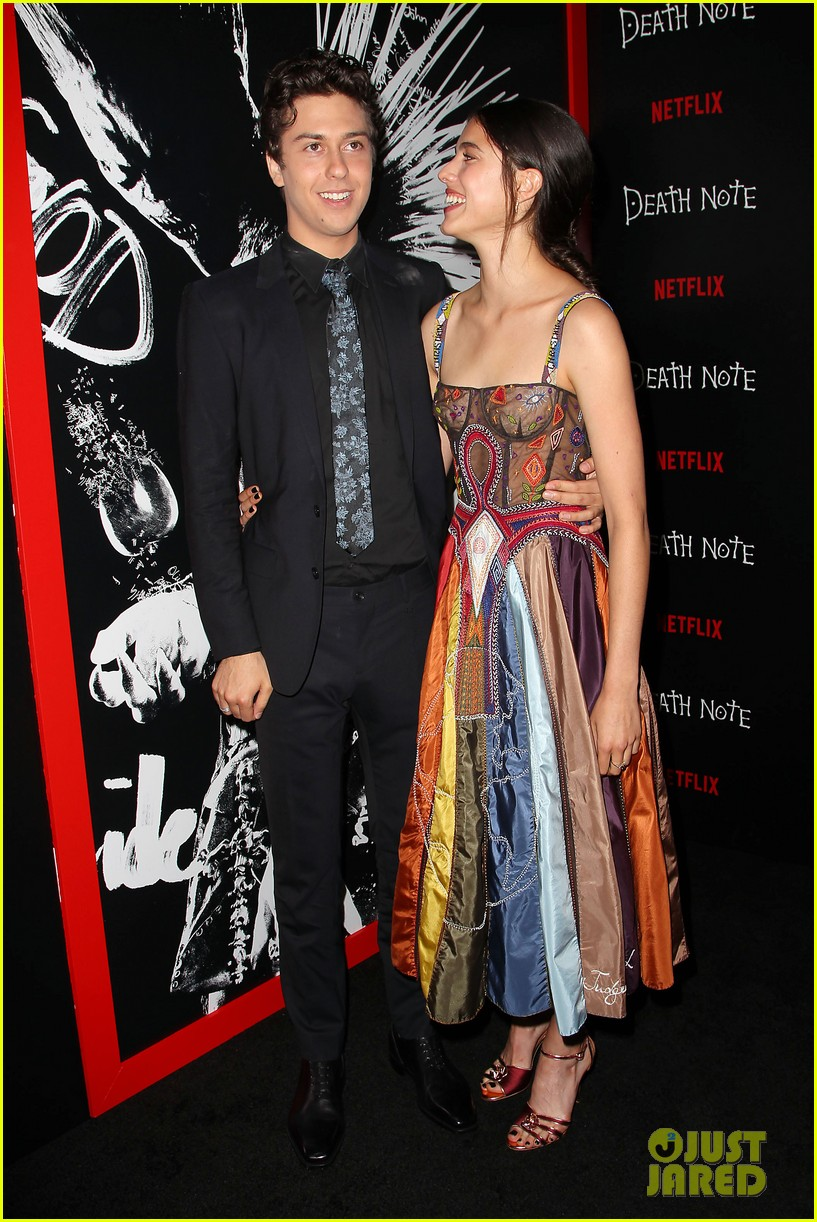 c32b97782fb Nat wolff suits up for death note screening with margaret JPG 817x1222 Nat  wolff margaret qualley