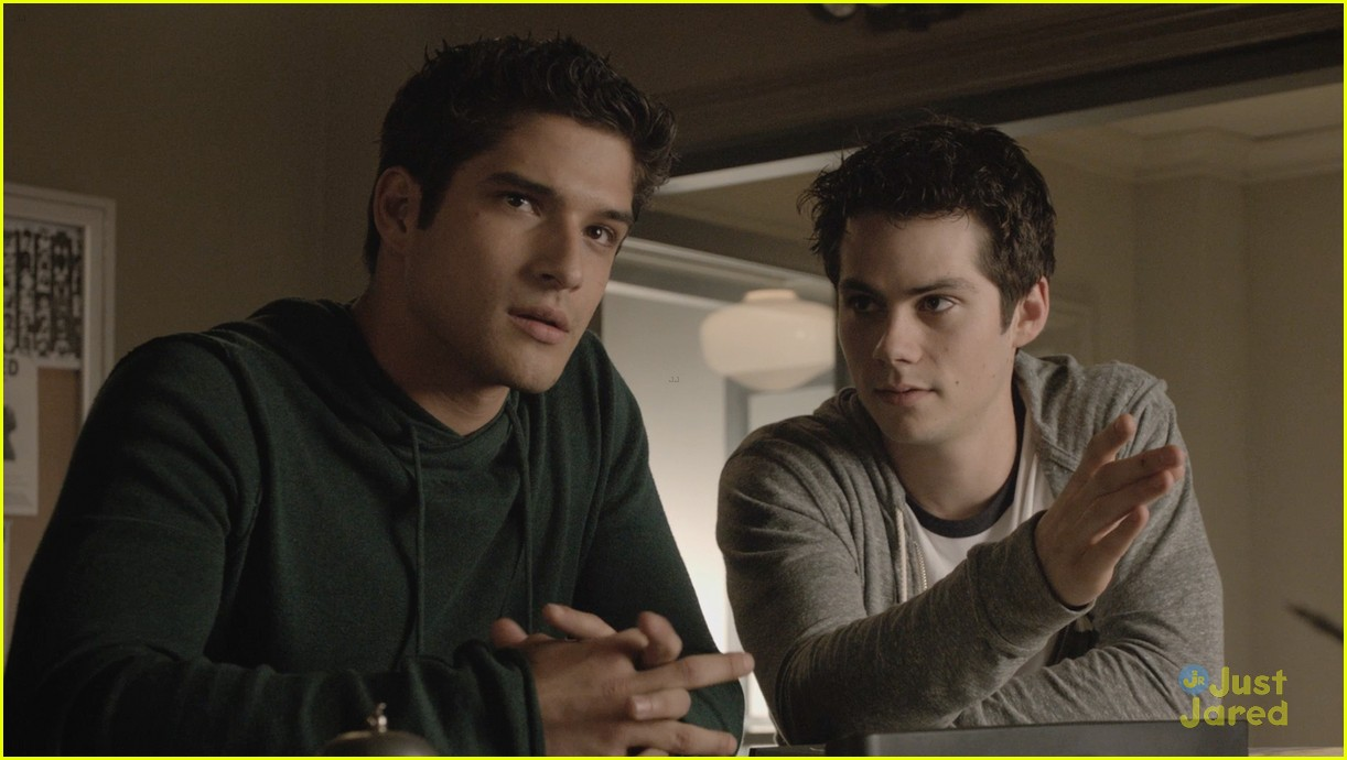 scott stiles miss each other teen wolf 02