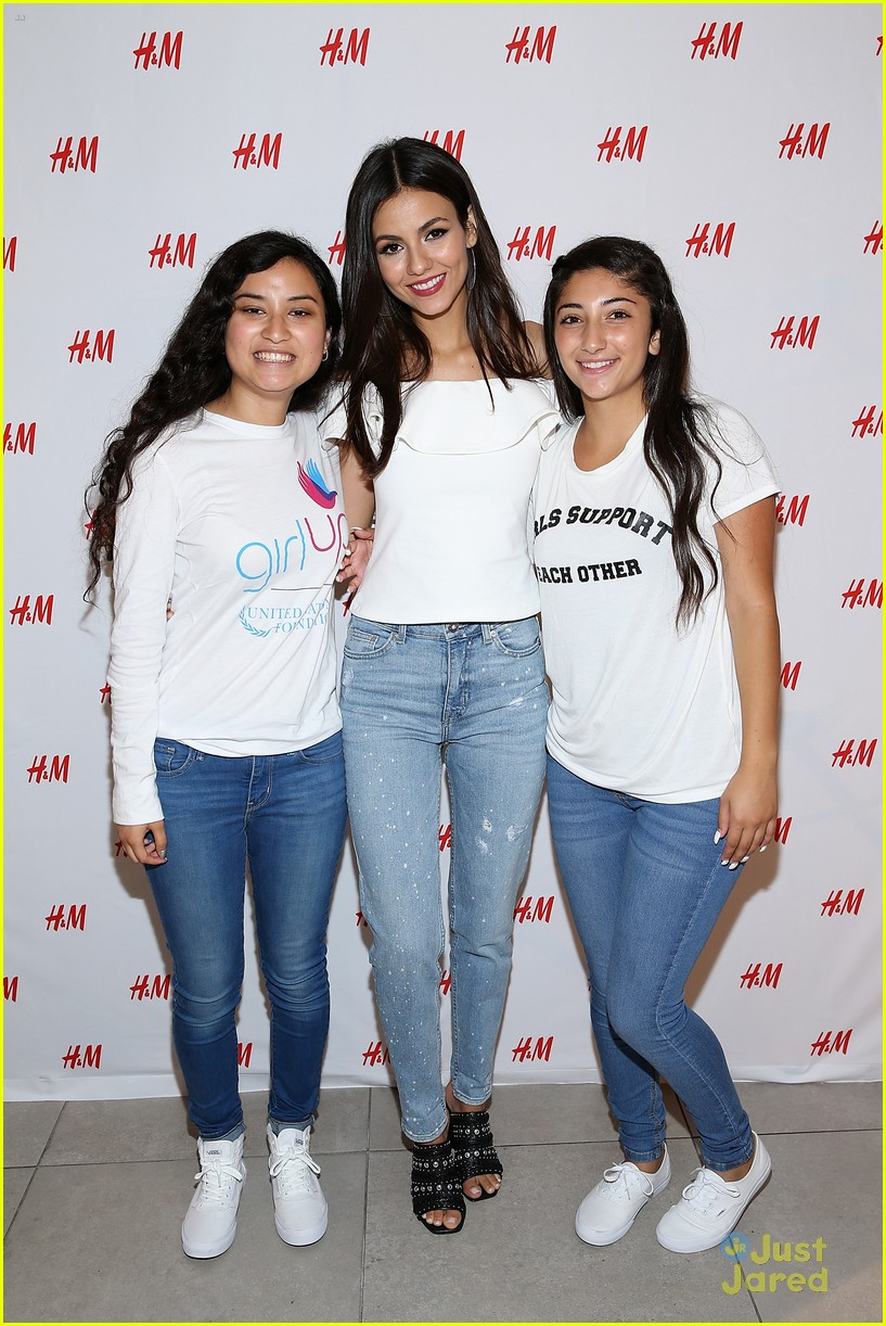 victoria justice girl up hm event 09