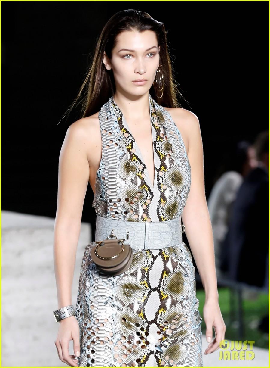 bella hadid walks runway before heading to paris 04