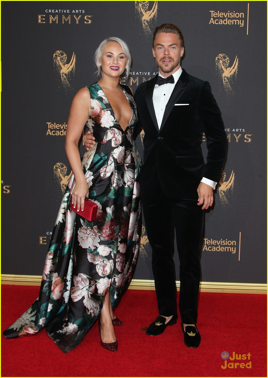 derek hough hayley  sharna julianne brooks emmys 13