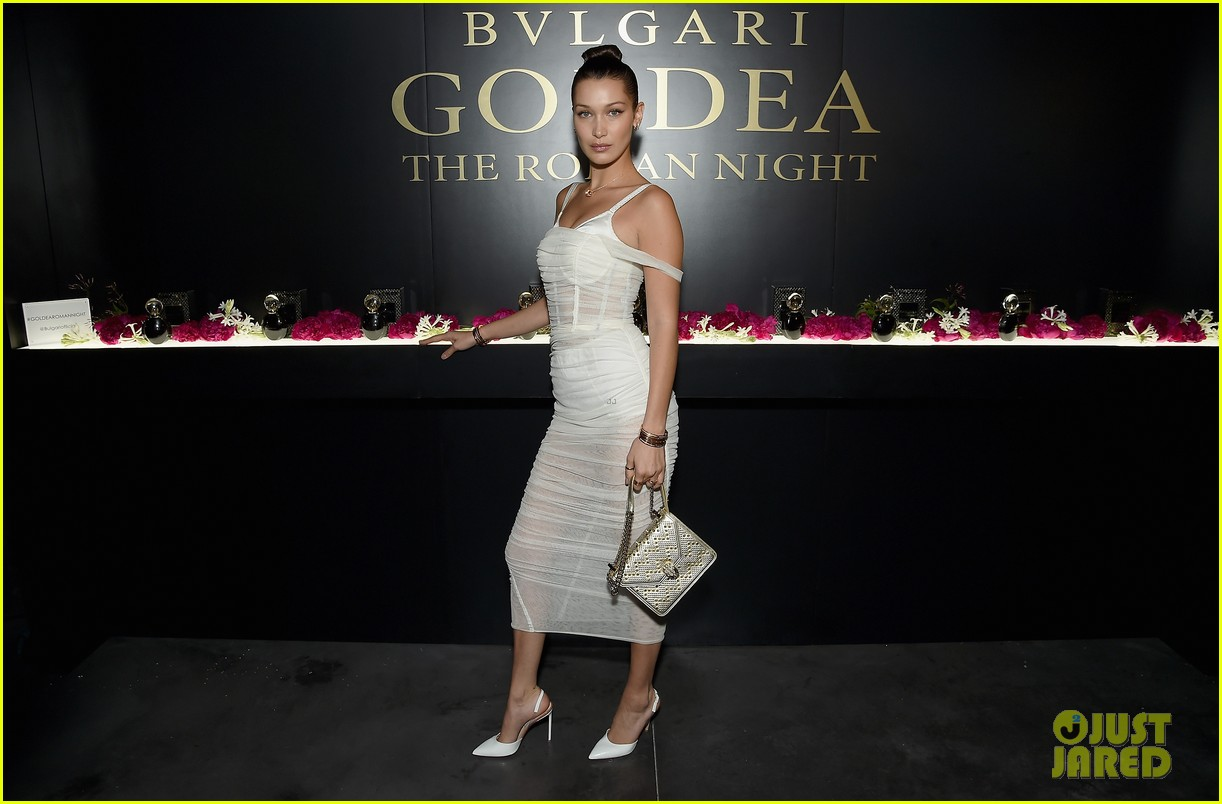 bella hadid stuns at launch of bulgaris new fragrance 13